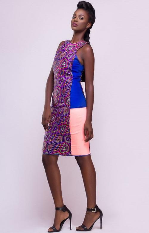 GIFA-COLOUR-BLOCK-DRESS-YAASOMUAH-AFROMOD-TRENDS