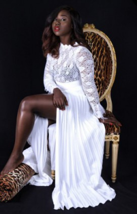 Black Beauty! Sika Osei Features In The Maju 'Valentine Edit'