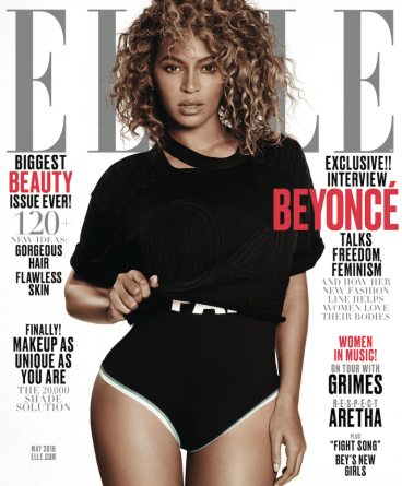 Slayed! Beyoncé Covers Elle Magazine + Launches New 'Ivy Park' Fashion Line