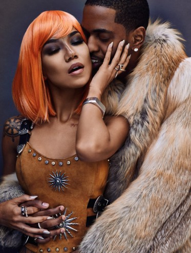 Big Sean & Jhene Aiko Get Cosy For Flaunt Magazine