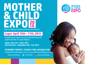 The 2016 Mother & Child Expo Is Here!