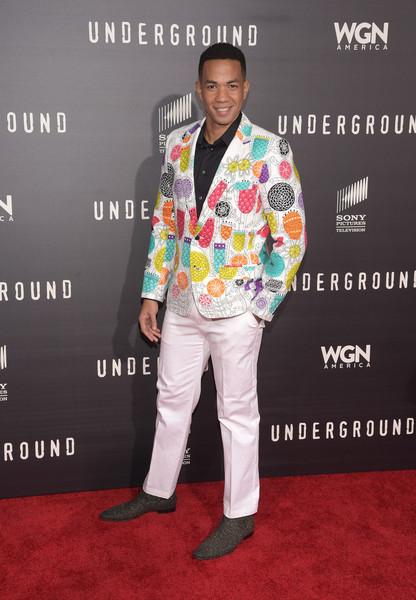 Premiere+WGN+America+Underground+Arrivals+Alano Miller
