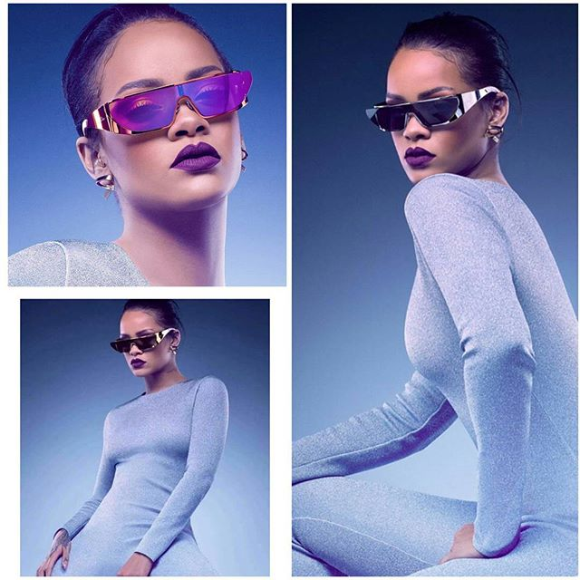 841b134e08a1 Rihanna Takes Us Into The Future With Her New Sunglasses Line In  Collaboration With Dior