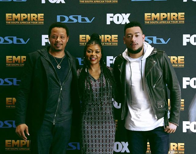 South African Rapper AKA To Star On Empire? Here Is What Happened When Taraji P Henson & Terrence Howard Arrived In Jozi