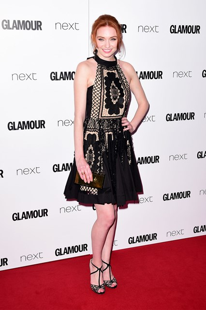 Eleanor-Tomlinson-Glamour-awards