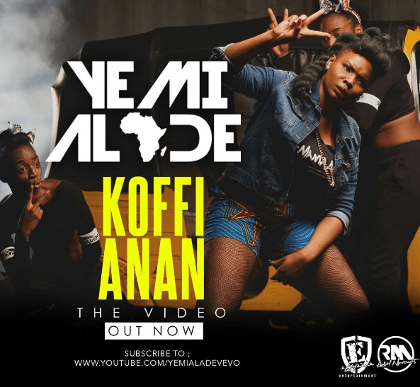 Yemi Alade Shows Off Her Dance Moves In 'Koffi Anan' Video