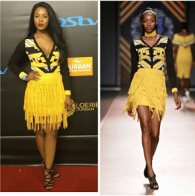From Runway to Real Life: Jessica Nkosi In SA Fashion Label Khosi Nkosi