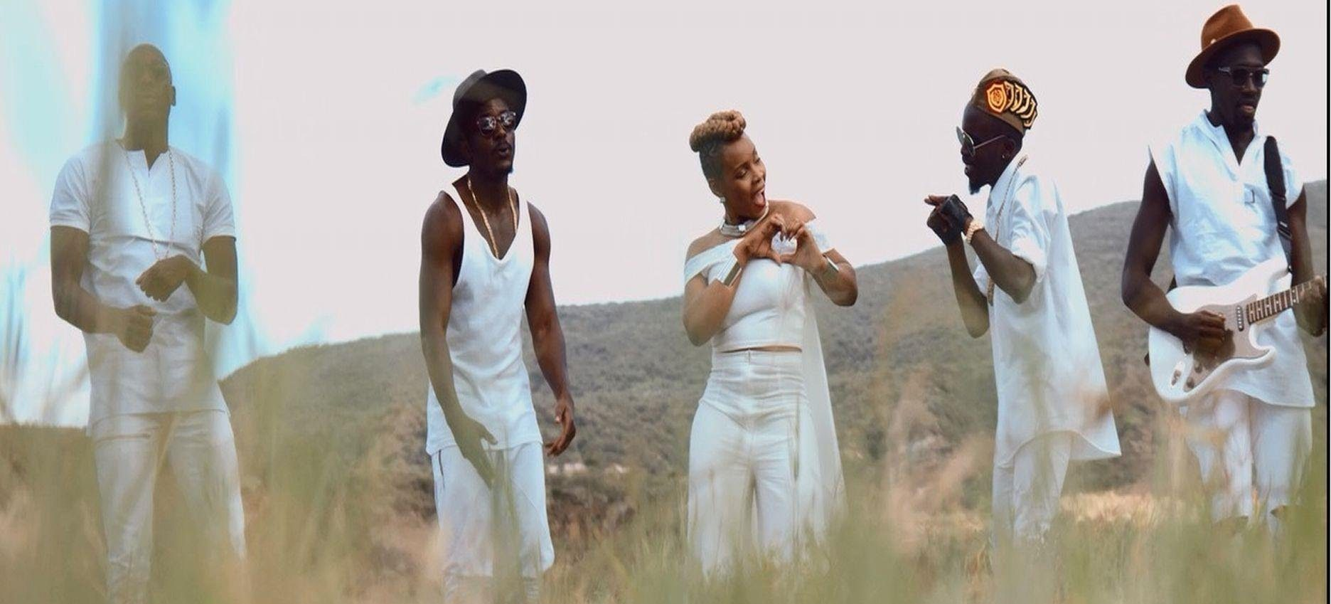 Here Is What Happened When Yemi Alade & Sauti Sol Hit The Studio To Record 'Africa'