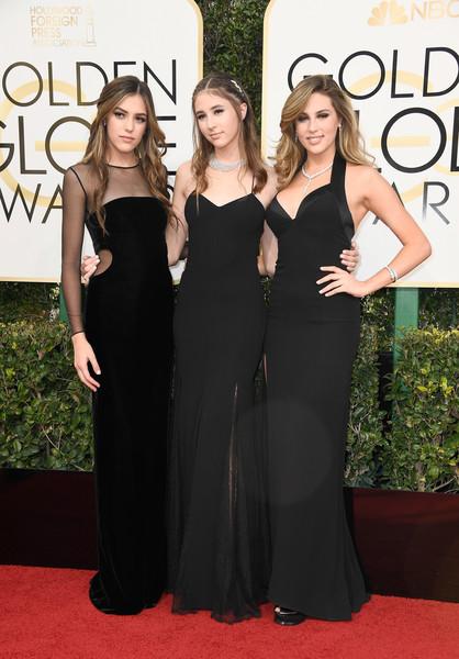 Miss Golden Globes Sistine Stallone, Miss Golden Globe Scarlet stallone & Miss Golden Globes Sophia Stallone