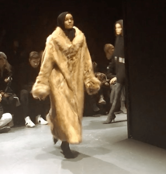 Somali-American Model Halima Aden Makes Headlines After Rocking Her Hijab At Kanye West's Fashion Show