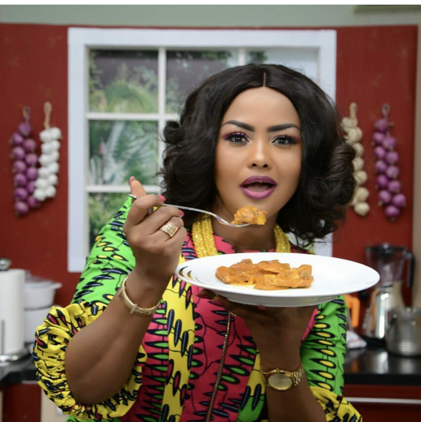 Nana Ama McBrown Says Goodbye To The 'Aben Show'