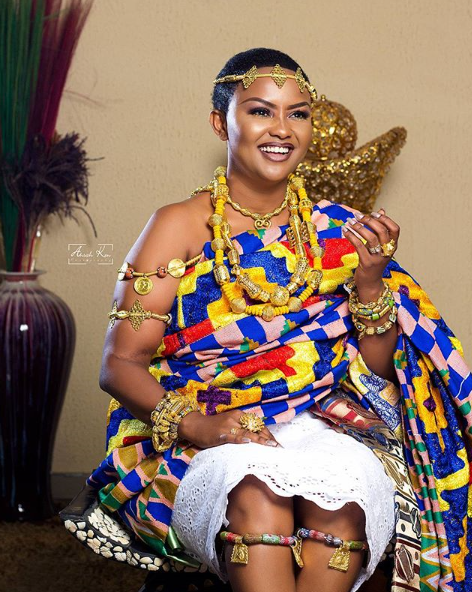 Nana Ama McBrown Turns A Year Older. Check Out Her Regal Birthday Shoot
