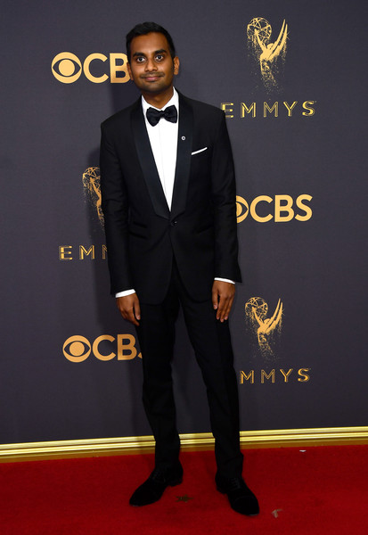 69th-Annual-Primetime-Emmy-Awards-Aziz Ansari-emmys-2017
