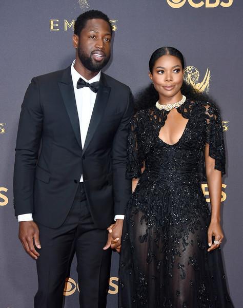 69th-Annual-Primetime-Emmy-Awards-Dwyane Wade-Gabrielle Union-emmys-2017