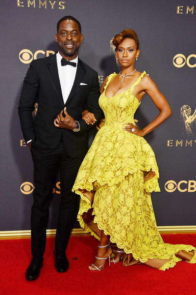 69th-Annual-Primetime-Emmy-Awards-emmys-2017-Sterling-K-Brown- Ryan-Michelle-Bathe