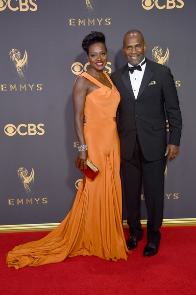 69th-Annual-Primetime-Emmy-Awards-Viola Davis-Julius Tennon-emmys-2017