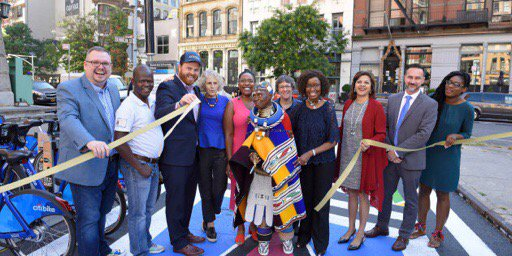 Iconic Ndebele Artist Esther Mahlangu Honored With A Massive Mural In New York City