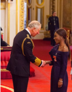 Amma Asante Receives MBE From Prince Charles