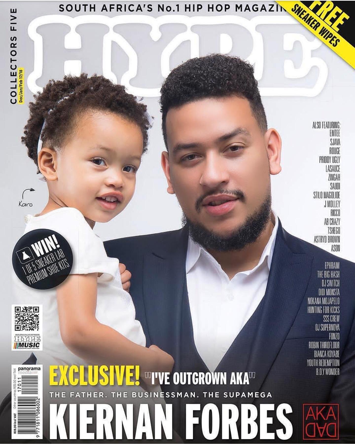 AKA & Baby Kairo Cover Hype Magazine