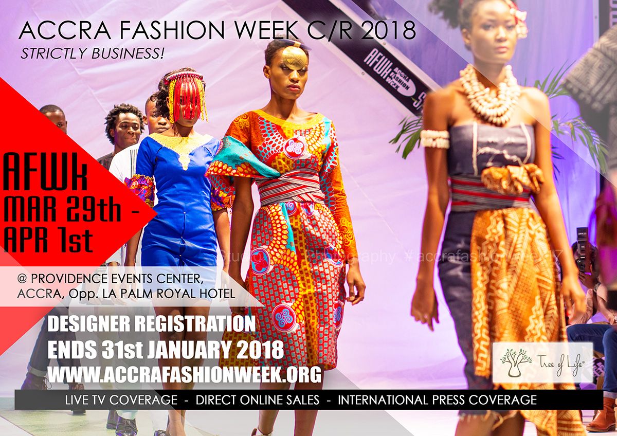 Accra Fashion Week Is Set For 2018 Here Are The Deets Yaa Somuah