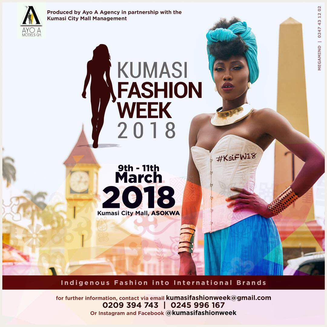 All Is Set For Kumasi Fashion Week 2018