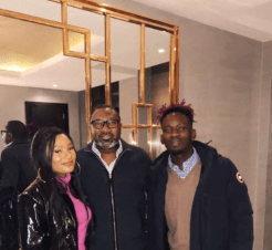 Daddy Approves: Mr Eazi & Boo JTO Hang Out With Femi Otedola