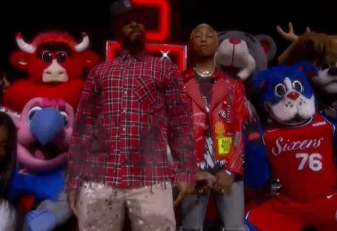 No Rihanna? Twitter Reacts To Pharrell & N.E.R.D's NBA All Star Performance.