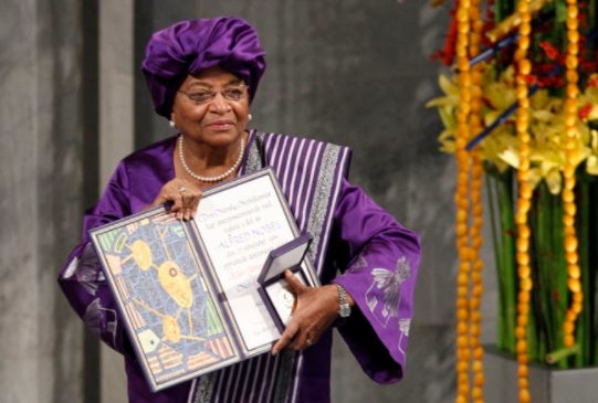 Ellen Johnson Sirleaf Pledges To Use Her $5M 'Mo Ibrahim' Prize For Women Empowerment