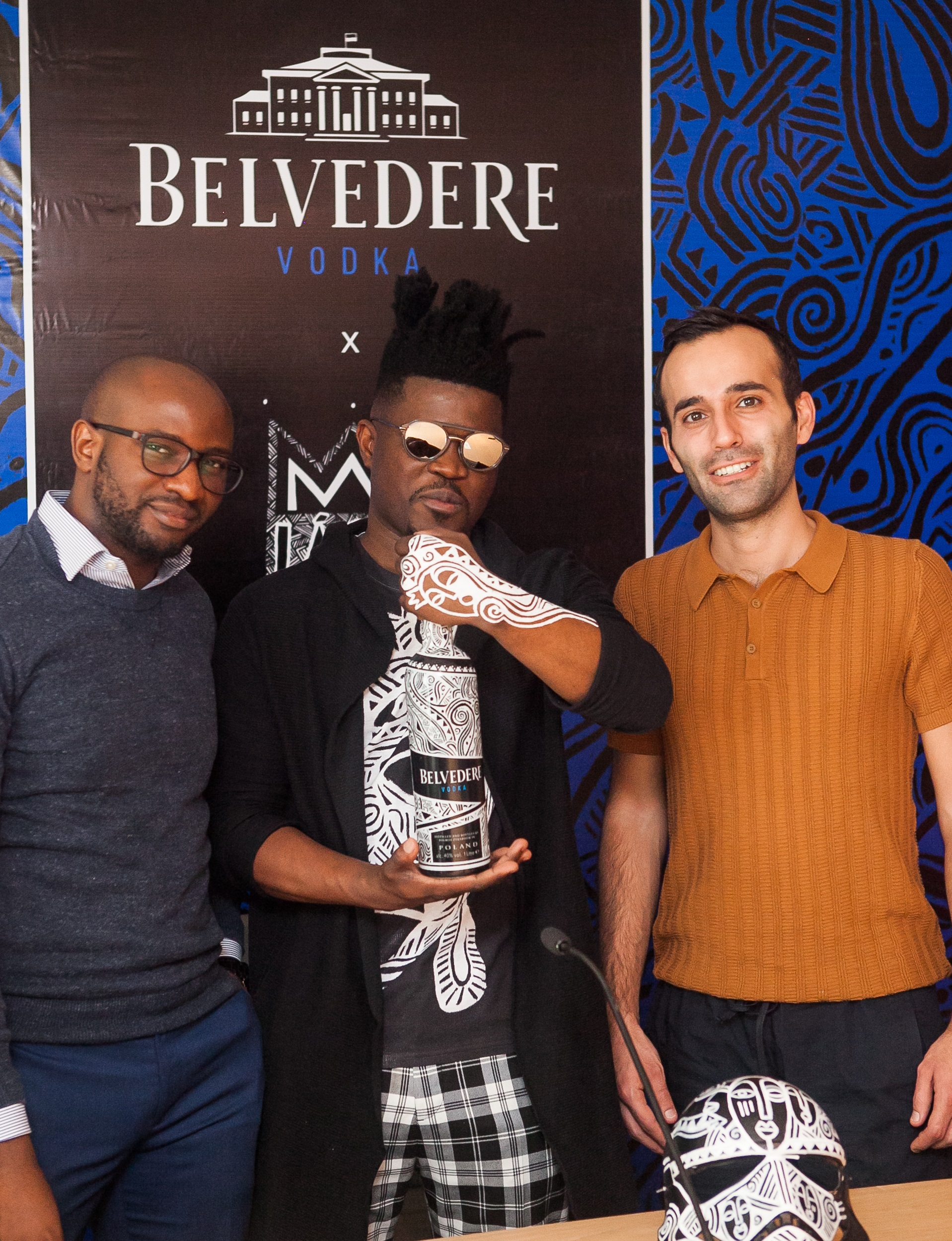 Belvedere Vodka and Laolu Senbanjo Unveil New Limited-Edition Bottle in Nigeria