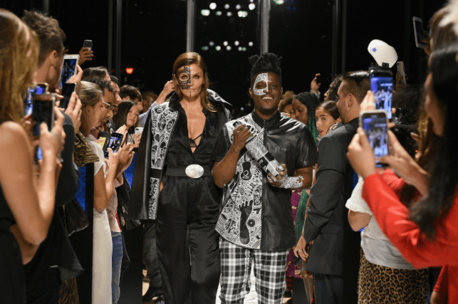 Laolu Senbanjo Teams Up With Belvedere Vodka At New York Fashion Week. The Party Continues in Nigeria This September