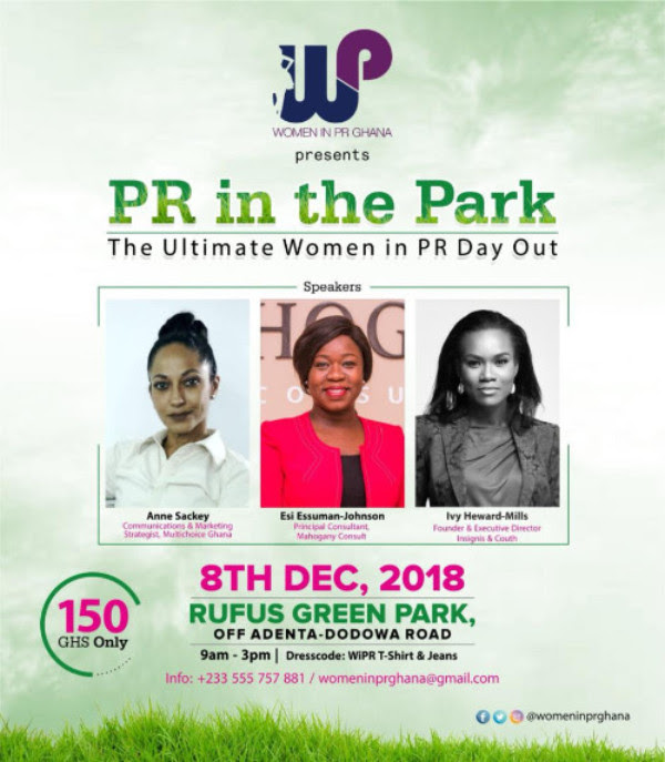 """PR in the Park"" – The Ultimate Women in PR Day Out"