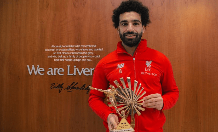 Mohamed Salah is BBC African Footballer of the Year 2018