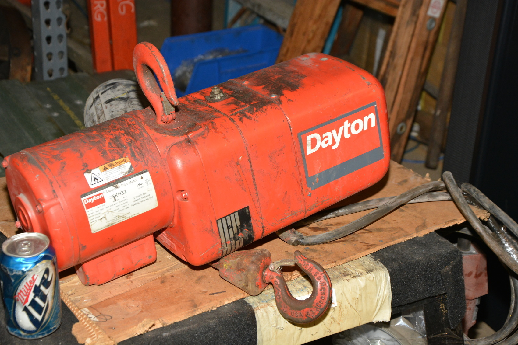 Dayton Hoist Wiring Diagram Electric