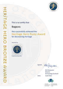 Heritage Hero Award