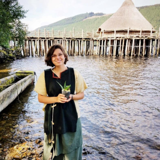 Cassidy and the crannog