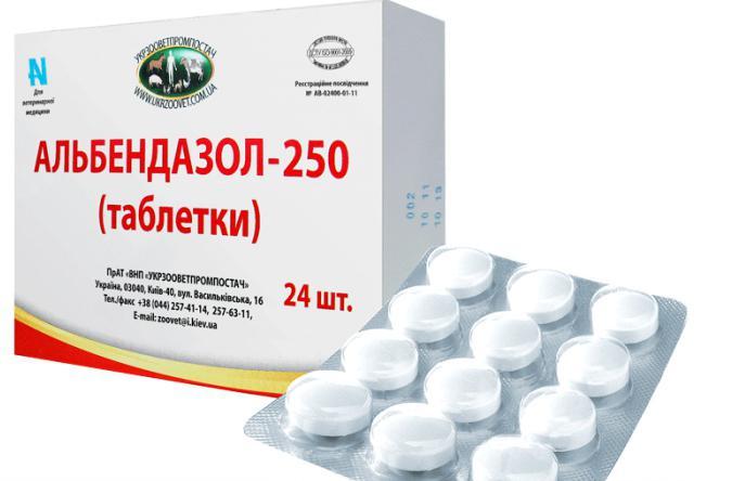 antihelmintikus gyógyszerek az emberek számára, széles hatástartományúak)