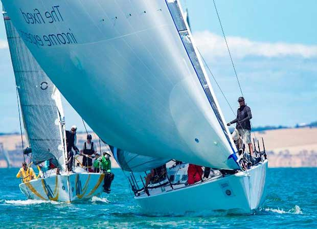 Cunning Plan AMS division one in the Passage Race - Festival of Sails © Steb Fisher