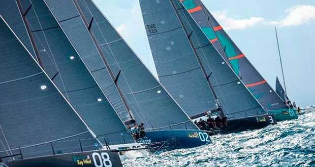 Last raced in the 2014 event, the 52 Super Series fleet returns this year to Key West © Martinez Studio / 52 Super Series