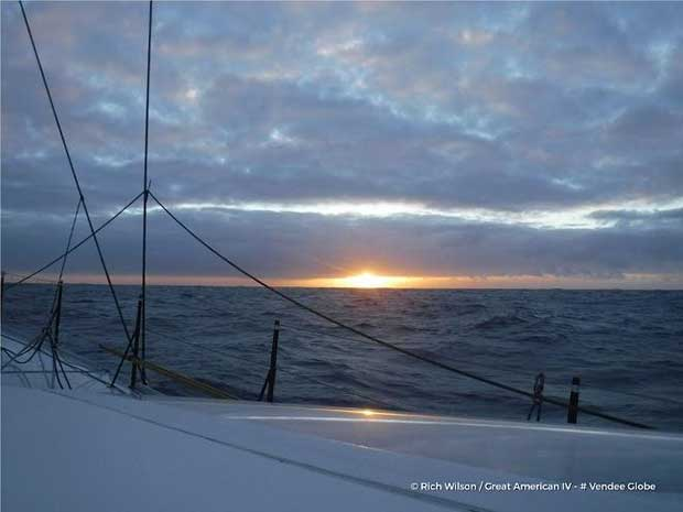 Day 58 – Rich Wilson (Great American IV) – Vendée Globe © Rich Wilson / Great American 4 / Vendée Globe
