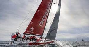 Dongfeng Race Team on the water - Volvo Ocean Race © Eloi Stichelbaut / Dongfeng Race Team