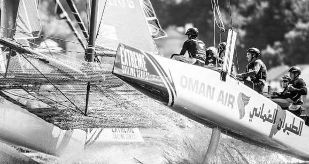 Cardiff. UK. 25th June 2016. The Extreme Sailing Series 2016. Act3 © Lloyd Images