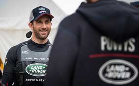 Sir Ben Ainslie Team Principal and Skipper, Land Rover BAR