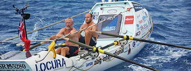 Tom Salt and fellow Clipper Race crew member Mike Burton on board the Tallisker Whisky Atlantic Rowing Challenge.jpg Clipper Round The World Yacht Race http://www.clipperroundtheworld.com