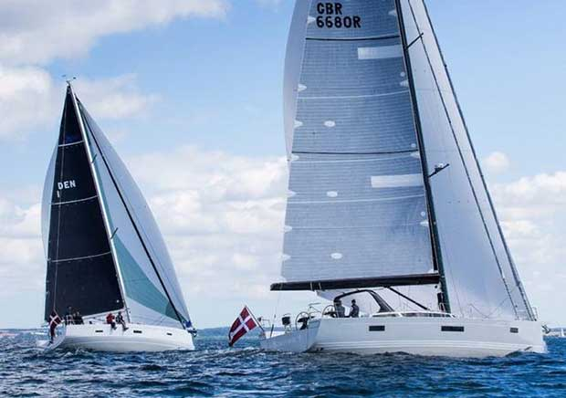 The X43 and X65 sail together in Denmark © X-Yachts