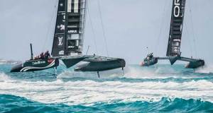Oracle Team USA and Softbank Team Japan - Practice Session 3, - April 10-12, 2017 © Austin Wong | ACEA
