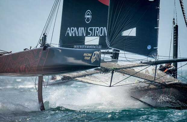 Flavio Marazzi's Armin Strom Sailing Team is the oldest GC32 campaign – GC32 Racing Tour © Loris von Siebenthal /www.lorisvonsiebenthal.com
