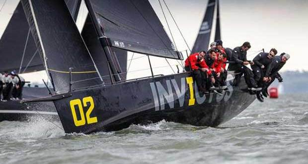 Sir Keith Mills' invincible FAST40+ Invictus. © Paul Wyeth / pwpictures.com http://www.pwpictures.com