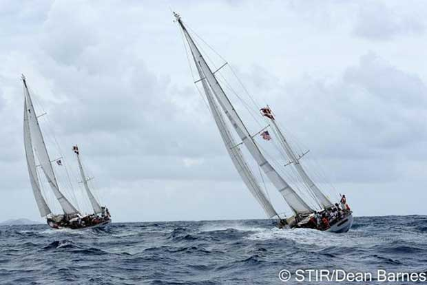 Danish boats - St. Thomas International Regatta © Dean Barnes