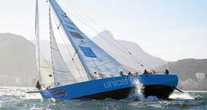 The Unicef team entry in the Clipper 2015-16 Race Clipper Ventures