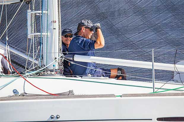 Sharp vigil - There will be wind somewhere. - 2017 Beneteau Pittwater Cup © John Curnow